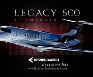Embraer Corporate Jet Program – New Addition!